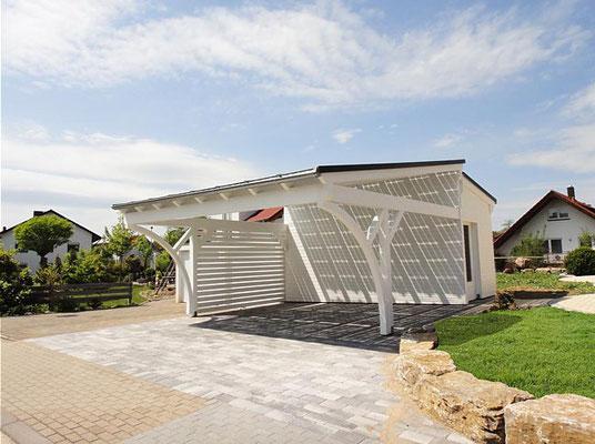 Solar Carport Bausatz