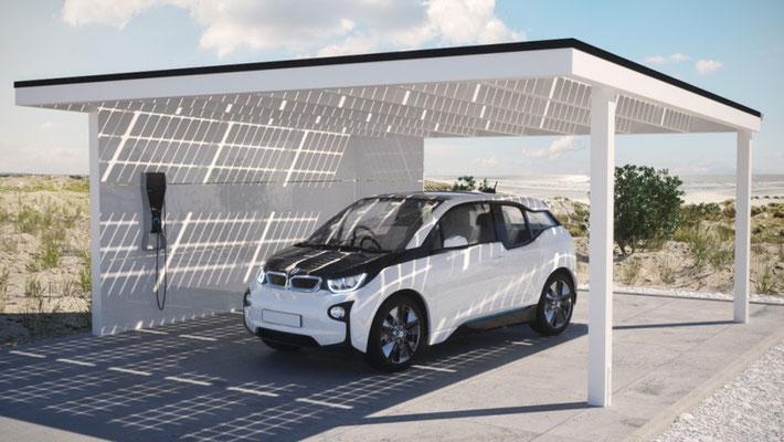 Solar Carport Produkt 2