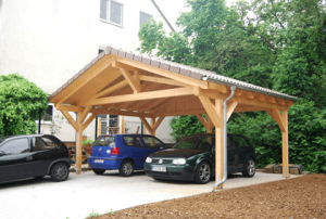 carport aus holz. Black Bedroom Furniture Sets. Home Design Ideas