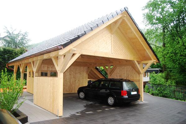Spitzdach Carport Statistik
