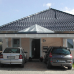 Carport Glasdach