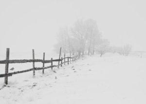 Schweiz Carport Winter