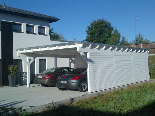 Carport mit Geräteraum Schweiz